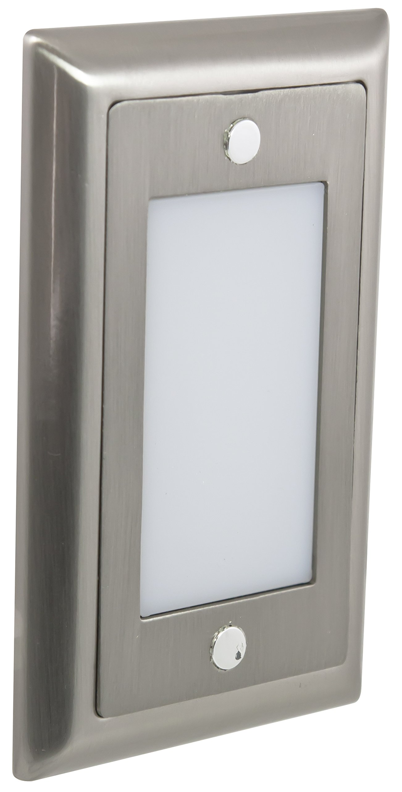 American Lighting SGL-SM-SS Smooth Faceplate for LED Step Light, Stainless Steel