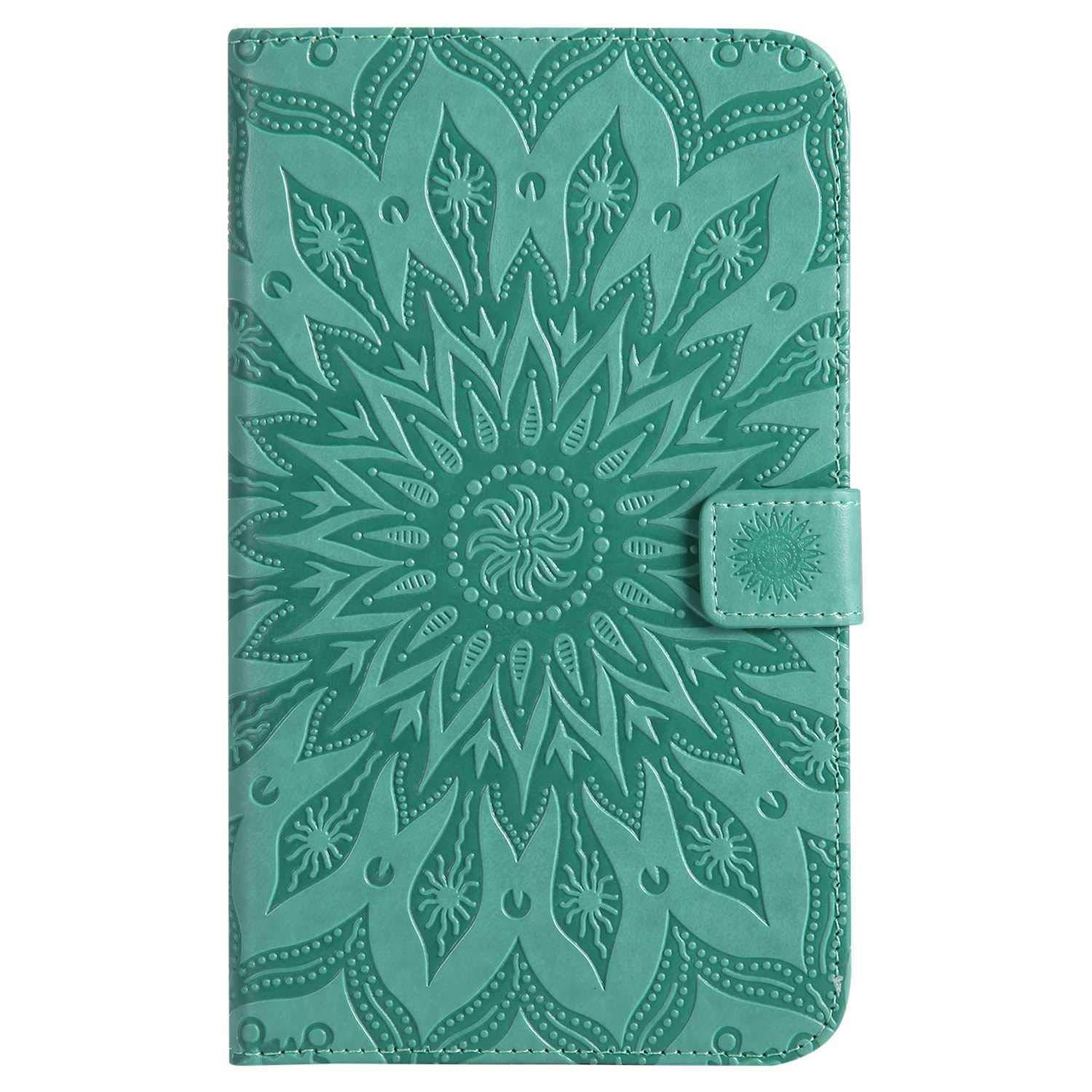 Bear Village Galaxy Tab a 7.0 Inch Case, Anti Scratch Shell with Adjust Stand, Full Body Protective Cover for Samsung Galaxy Tab a 7.0 Inch, Green by Bear Village