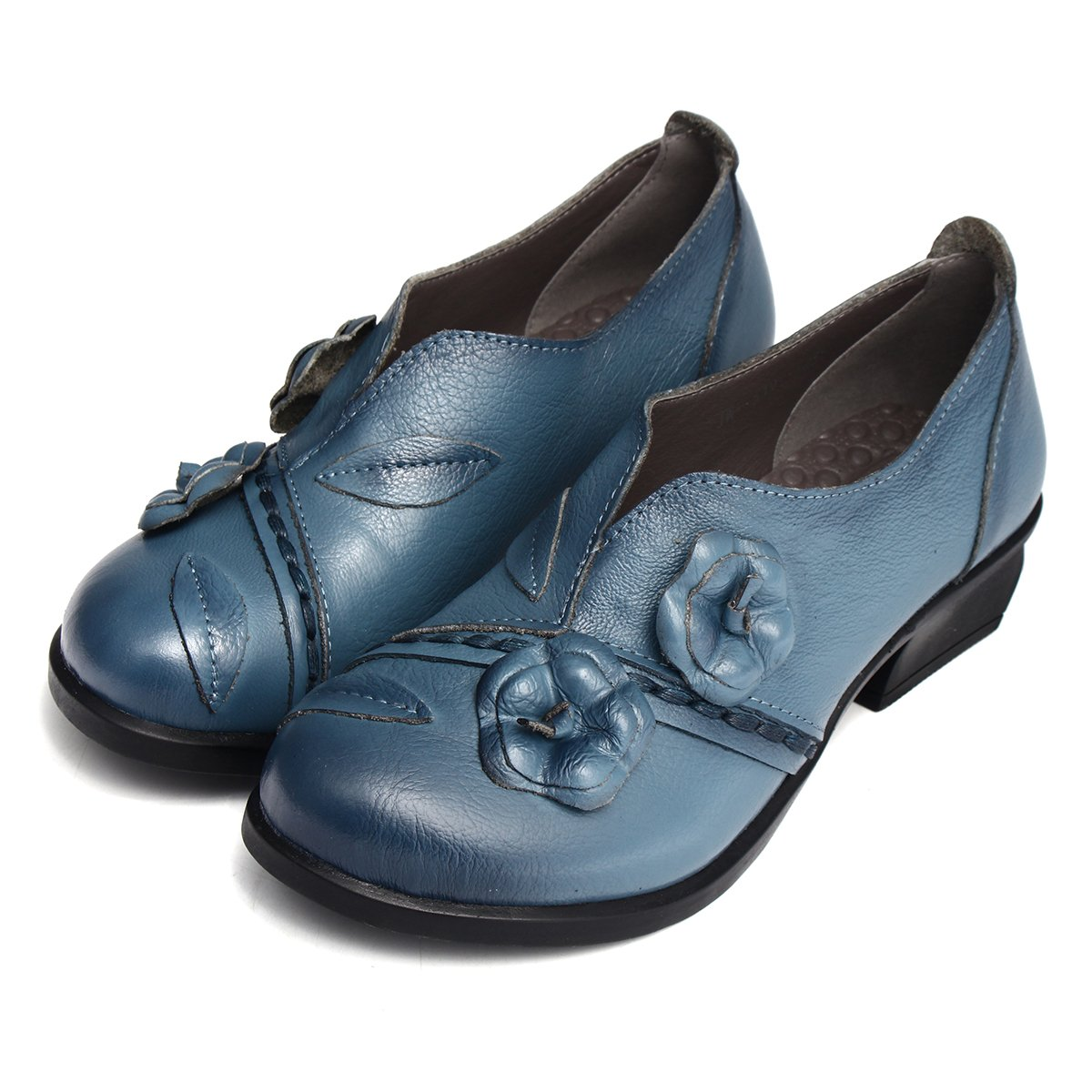Buy Socofy Women's Pumps-Shoes, Leather