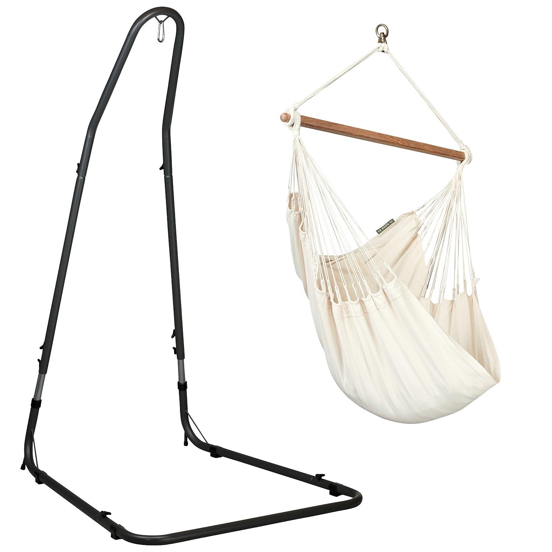 La Siesta Colombian Organic Basic Modesta Hammock Chair - Ecru La Siesta GmbH MOC14-1