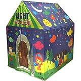 Muren Fluorescent LED Light Tent House for Kids