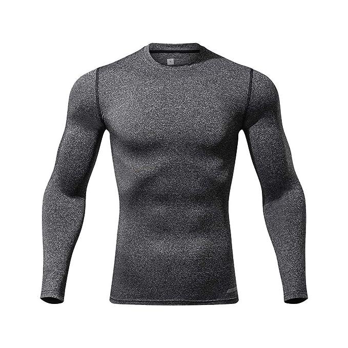 Camisetas de Running de Secado Rápido para Hombres: Amazon.es: Ropa y accesorios