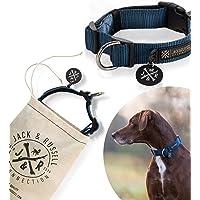 Hondenhalsband Balu - Premium hondenhalsband stal Jack & Russell diverse maten en kleuren (Halsomtrek S (28-35 cm…