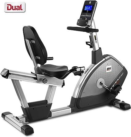 BH Fitness - Bicicleta Estática Reclinada Tfr Ergo Dual + Dual Kit ...