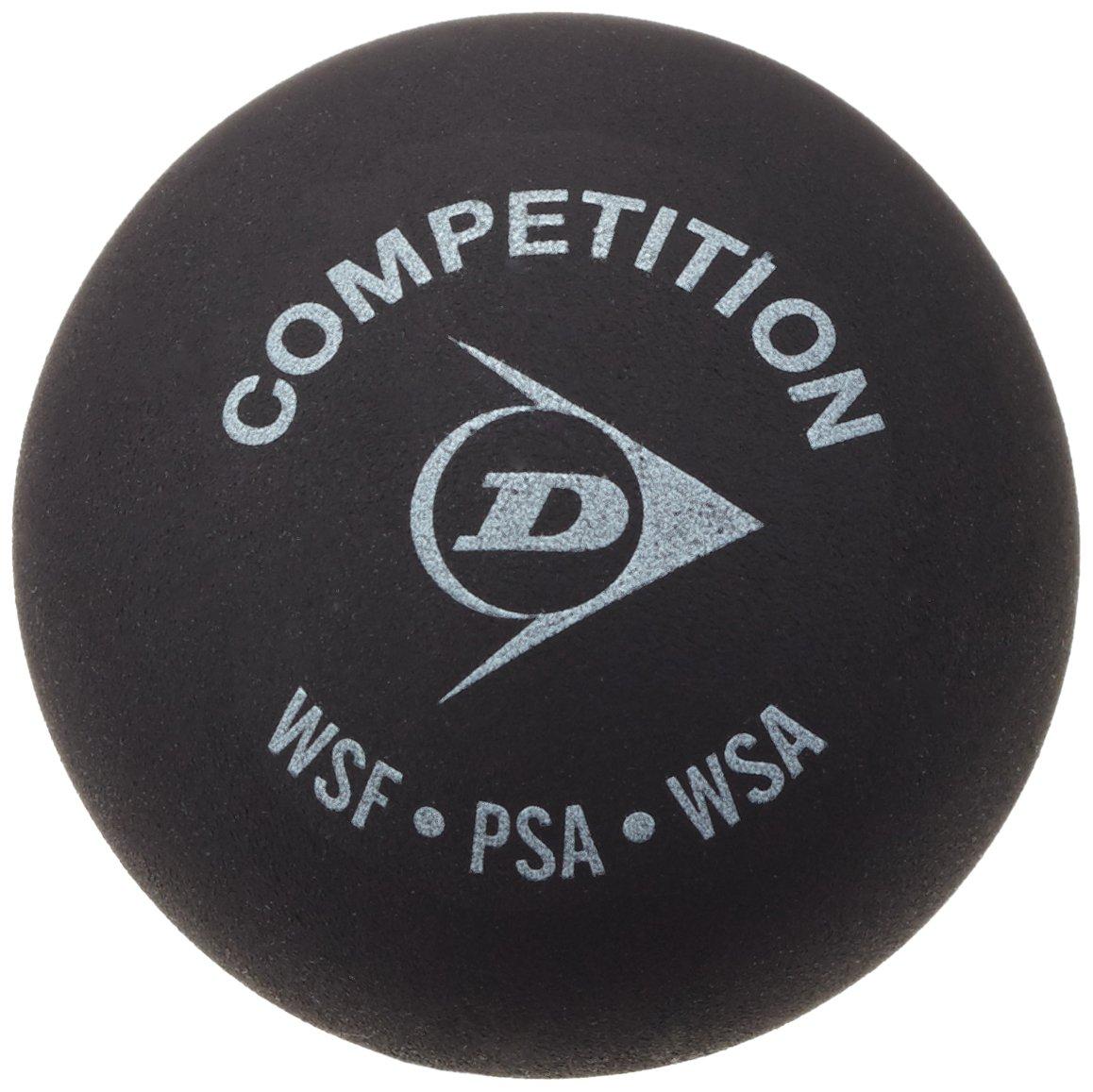 Dunlop Compétition de balle de Squash Dunlop Balle de squash Noir DL-SBALL/G