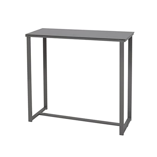 More Design MOUSE-CONSOLE-GR Powder Coated Metal Console /Grey ...