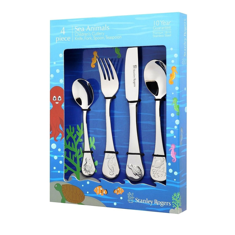 NEW Stanley Rogers Sea Animals Children/'s Cutlery Set 4pce