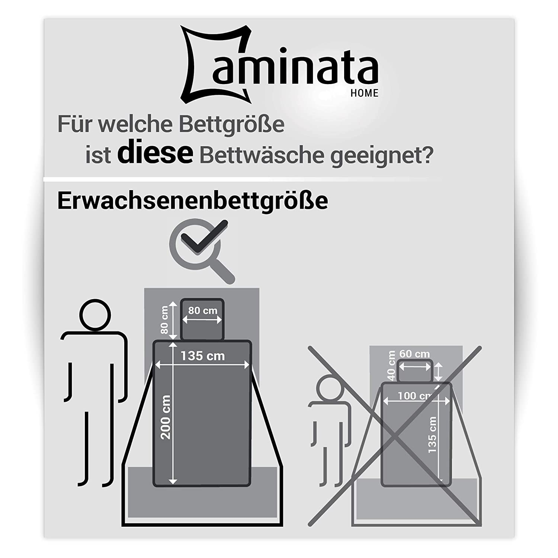 Aminata Kids - Fein-Biber-Bettwäsche-Set 220-x-240 cm Karo-Motiv kariert-e-s kariert-e-s kariert-e-s Muster 100-% Baumwolle Weiss-e rot-e blau-e 0c7656