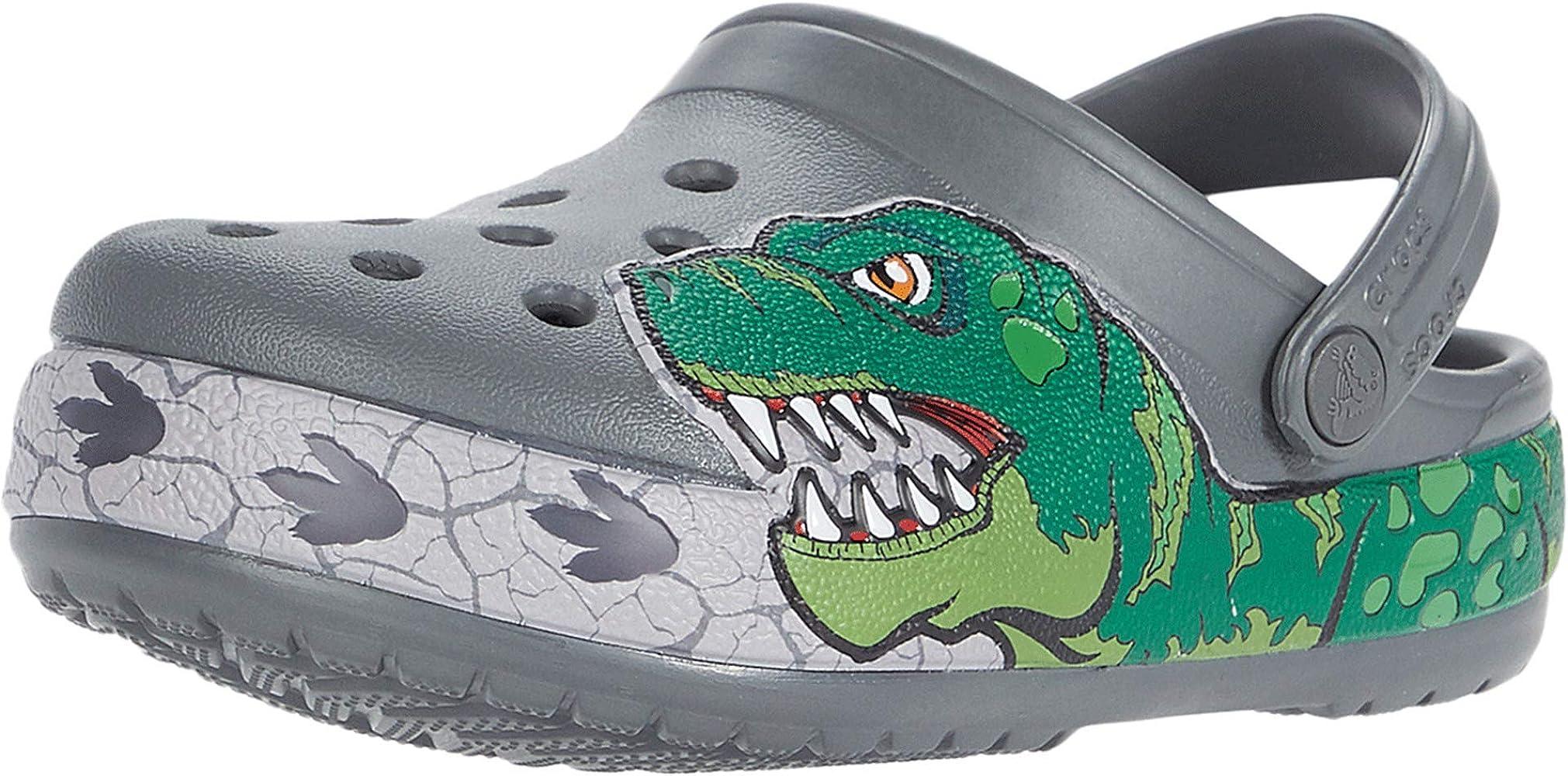 Crocs unisex baby Fun Lab Dino Band