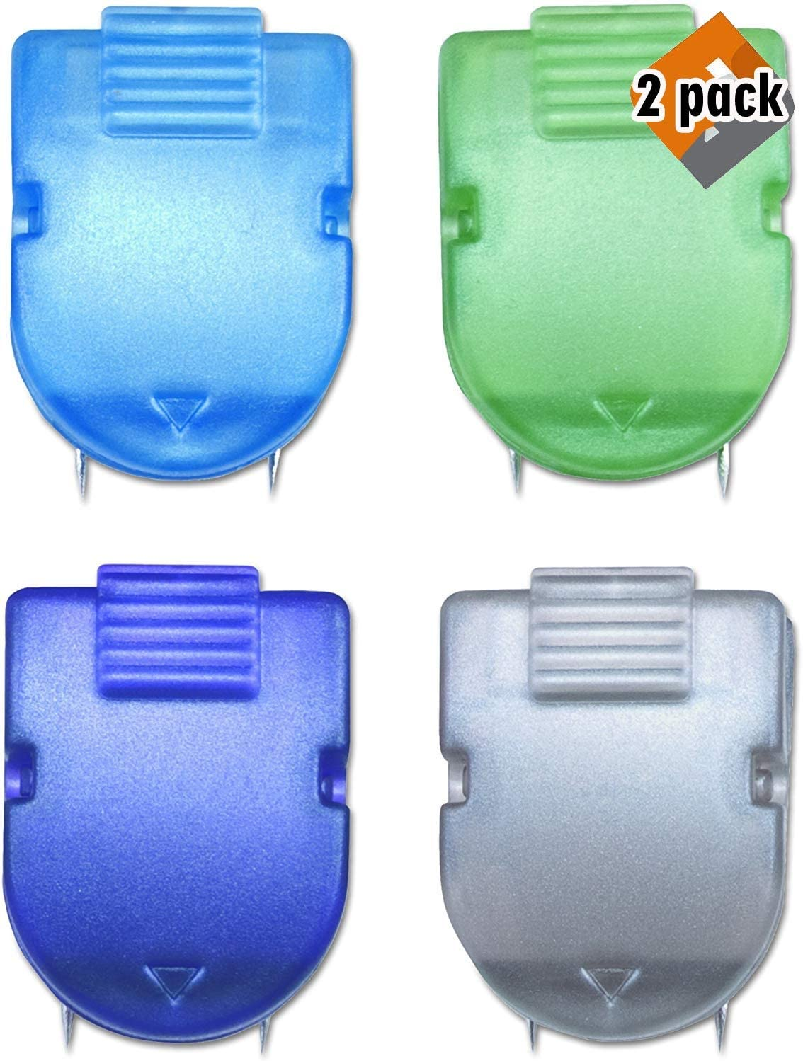 Standard Size Assorted Metallic Colors Box of 20 40-Sheet Capacity ADVANTUS Panel Wall Clip for Fabric Panels 75338