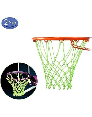 TRIXES Rete da basket a 12 anelli si illumina al buio.