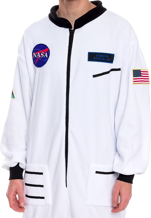 Amazon.com: Silver Lilly Pijama de astronauta de una pieza ...