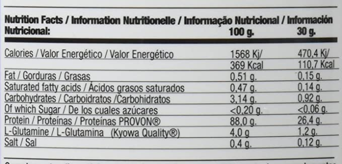 QUAMTRAX PROTEINA WHEY ISOPRO CFM SABOR COOKIES & CREAM 907 gr