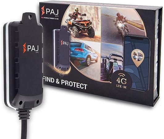 4g Motorrad Und Fahrzeug Gps Tracker Vehicle Finder 2 0 Von Paj Gps Direktanschluss 8 32 V Live Ortung Per App 100 Tage Streckenspeicher Alarmmeldungen Direkt Auf Ihr Handy Auto