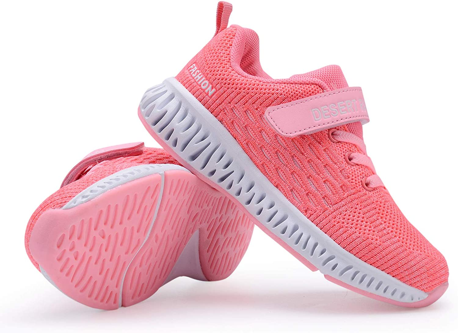 Piup Toddler Kids Breathable Boys Girls Running Shoes