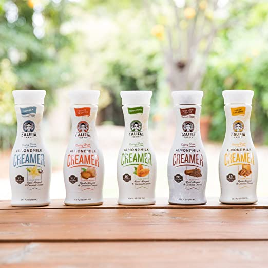 Califia Farms Almondmilk Coffee Creamer with Coconut Cream, Dairy Free, Dulce De Leche, 25.4 Oz (Pack of 6): Amazon.com: Grocery & Gourmet Food