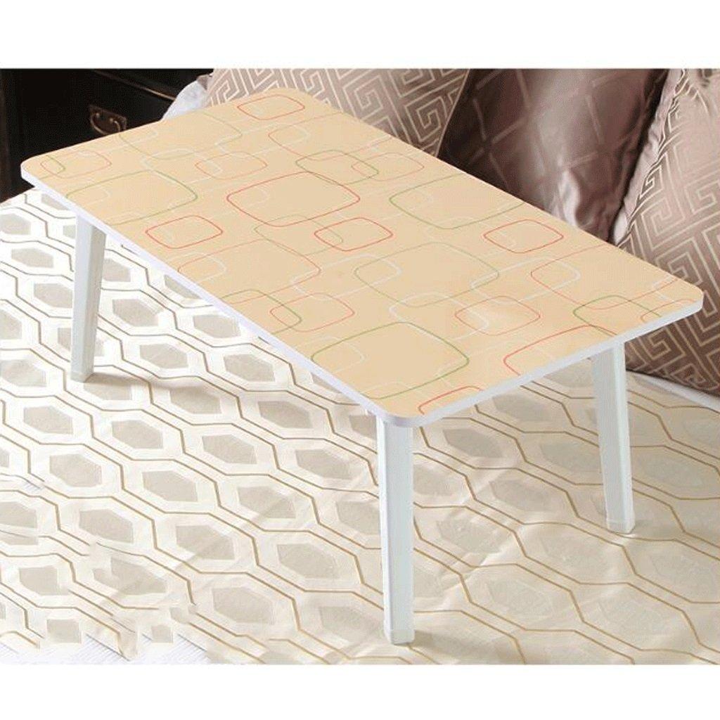 GAOLILI ラップトップテーブルラップトップレディースドミトリーデスク学生ラーニングテーブルスモールテーブルシンプルテーブルデスクトップのサイズを大きくラージルーム厚い木製の脚強固な環境保護 B07DNSDDYS