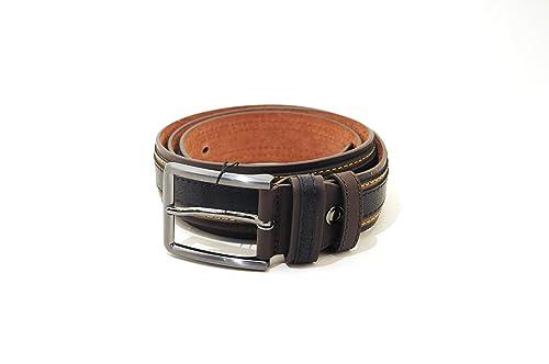 cinturón para hombre Harvey Miller Polo Club Piel Negro 110/125 cm ...