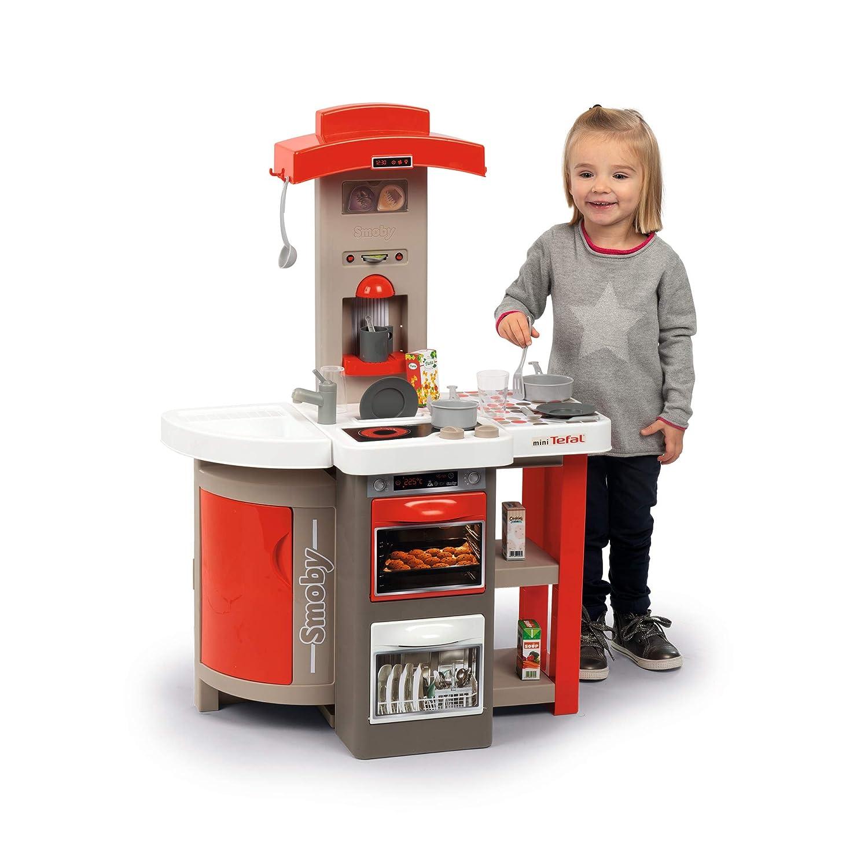 Kit Utensili Cucina Smoby312200 Cucina Giocattolo Pieghevole Rosso Grigio Giochi E Giocattoli