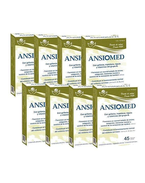 ANSIOMED - BIOSERUM - 1 UNIDAD (45 CÁPS) - ANSIOMED 45 CÁPSULAS - BIOSERUM (1): Amazon.es: Salud y cuidado personal