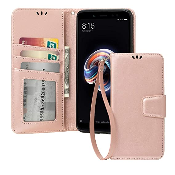 buy popular 44275 86867 Amazon.com: for Xiaomi Redmi Note 5 Pro Flip Case Hybrid Phone Cover ...