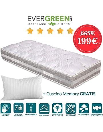 UTTU Topper Memory Foam Matrimoniale 160x190, Topper Materasso ...