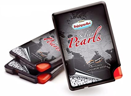 pouches saffron rajnigandha rs of blended dp pearls kvwsfvzl each silver pack