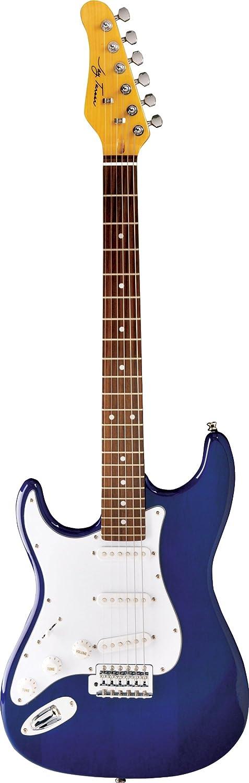 Jay Turser ジェイターサー 300 Series Jt-300-lh-tbl エレキギター, レフトハンドモデル レフティ 左利き , Transparent Blue エレキギター エレクトリックギター (並行輸入) B003XDDERM
