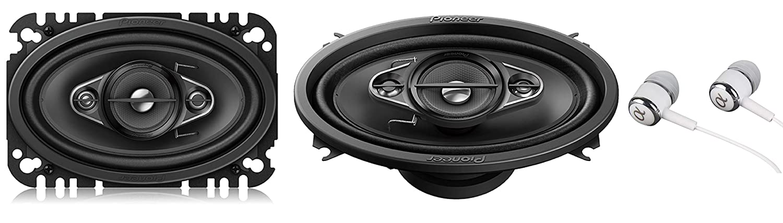 PIONEER A-Series 6.5-Inch 350-watt 4-Way Speakers