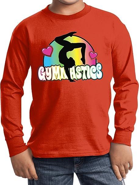 Amazon.com: comprar Cool camisas niños gimnasia Tee neón ...