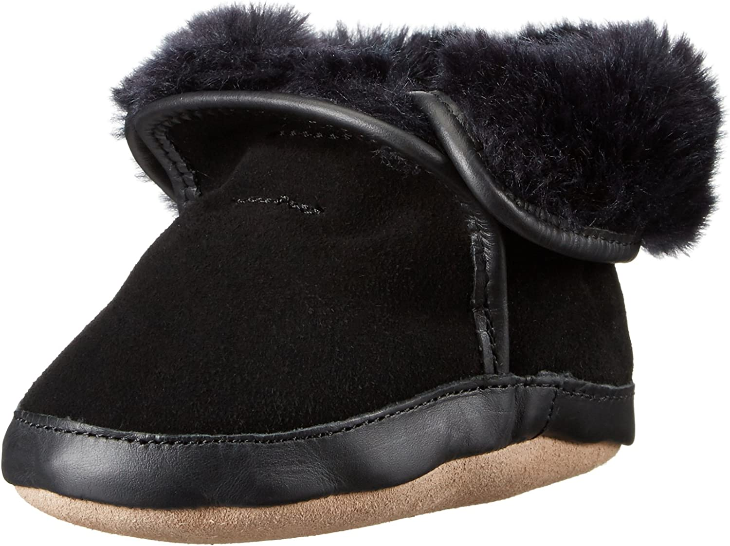 Robeez Cozy Ankle Baby Boots