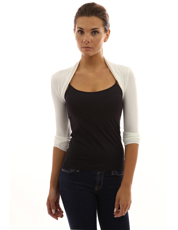PattyBoutik Women's Long Sleeve Bolero Shrug