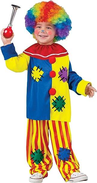 Amazon.com: Fun World Costumes Disfraz de payaso para niña ...