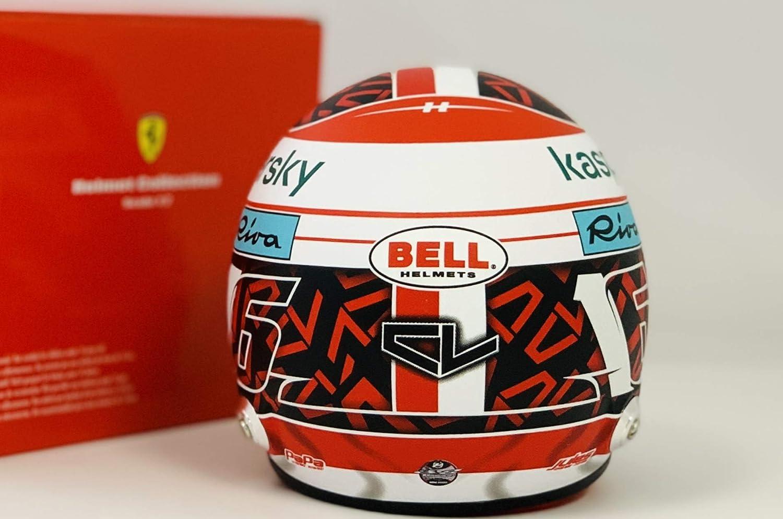Charles Leclerc 2020 Bell 1:2 Scale Mini Driver Helmet