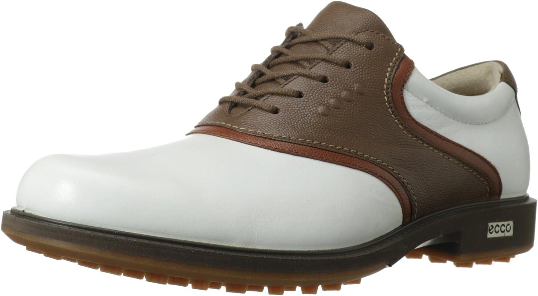 ECCO Men's Tour Hybrid Saddle Golf Shoe