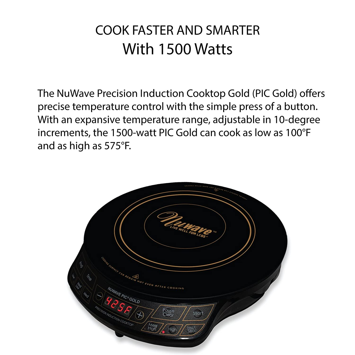 Amazon NuWave PIC Gold W Portable Induction Cooktop