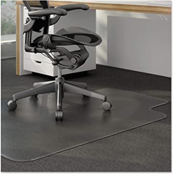 Amazon Com Universal Cleated Chair Mat For Low And Medium Pile Carpet 36 X 48 Clear Furniture Decor