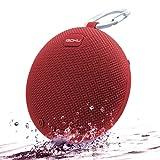 Bluetoothスピーカー iGOKU ブルートゥースワイヤレス防水スピーカー SDカード対応 赤