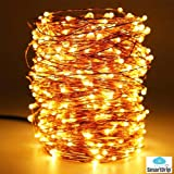 Smart Home and Garden Waterproof 200 LED Copper String Fairy Light with USB ,20 m, Warm White
