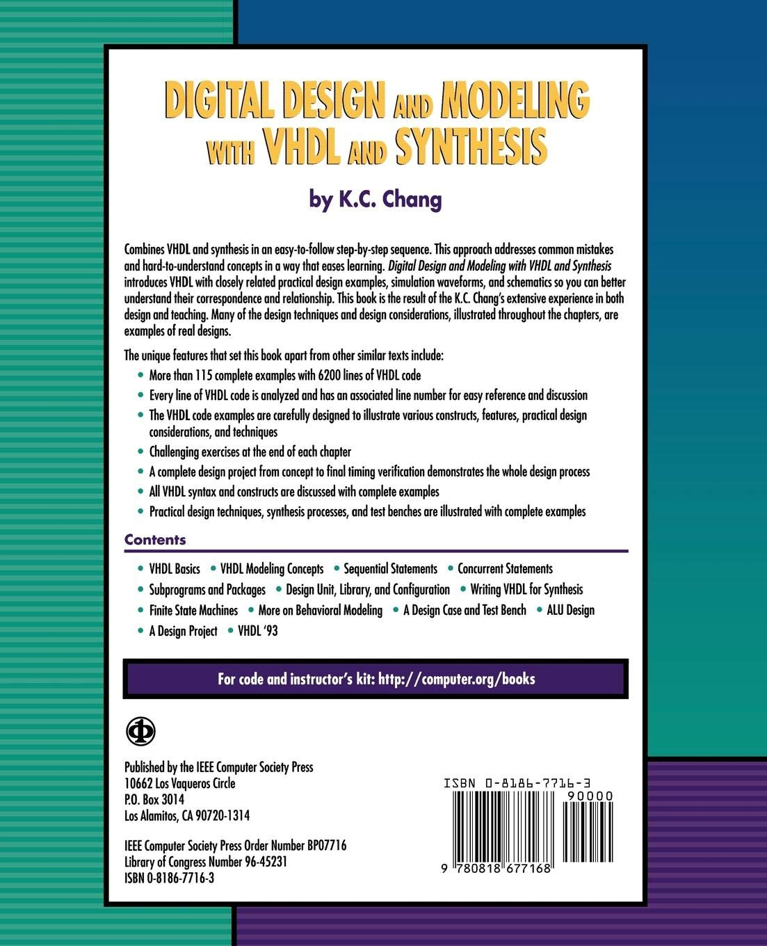 Digital Design and Modeling with VHDL and Synthesis: K  C