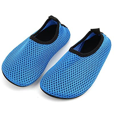 Bumud Kids Quick Dry Swim Water Shoes Barefoot Aqua Socks Shoes for Beach Pool Surfing Yoga