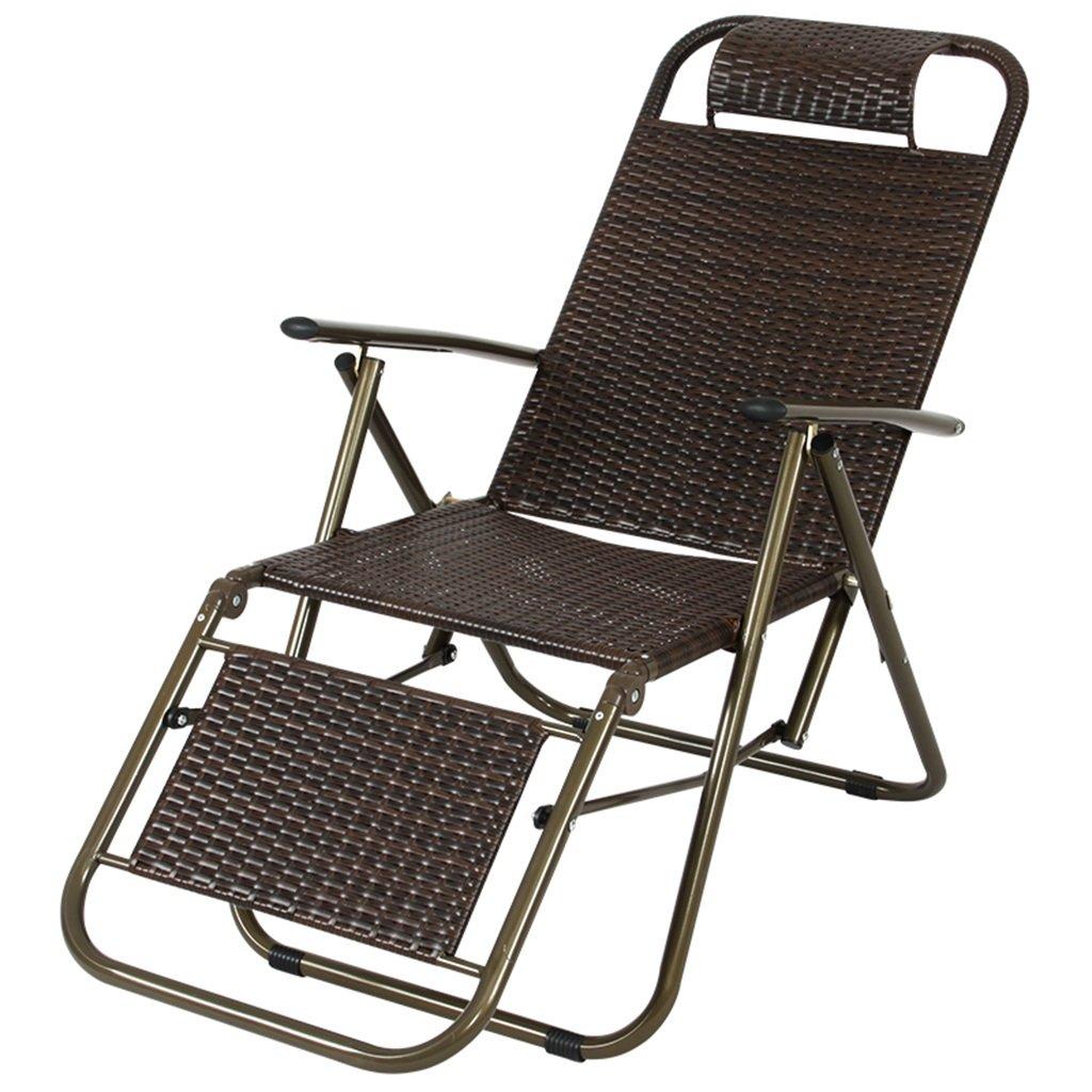 QRFDIAN Balkon Liege mittagspause klappstuhl Siesta Stuhl Strand lässig kühlstuhl faul Stuhl