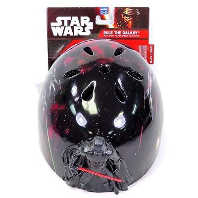 Bell Multi Sport Bike Helmet Star Wars Darth Vader Figure : Sports & Outdoors