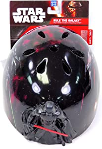 Bell Multi Sport Bike Helmet Star Wars Darth Vader Figure