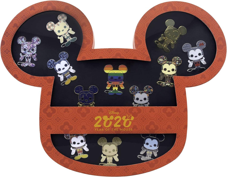 Disney Pin Minnie Mickey Mouse Tokyo Disney Sea TDS Prize Treasure Gems 2 pc lot