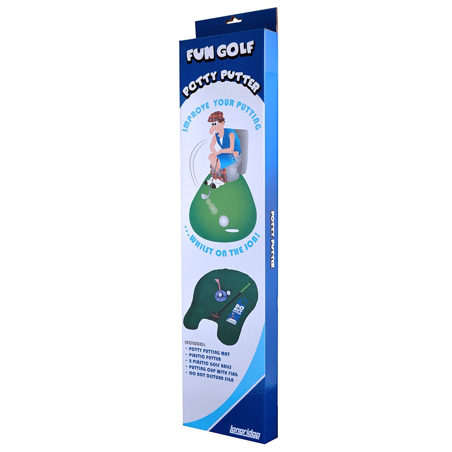 Longridge Potty Putter   Das WC Golf Set Für Die Toilette: Amazon.de: Sport  U0026 Freizeit