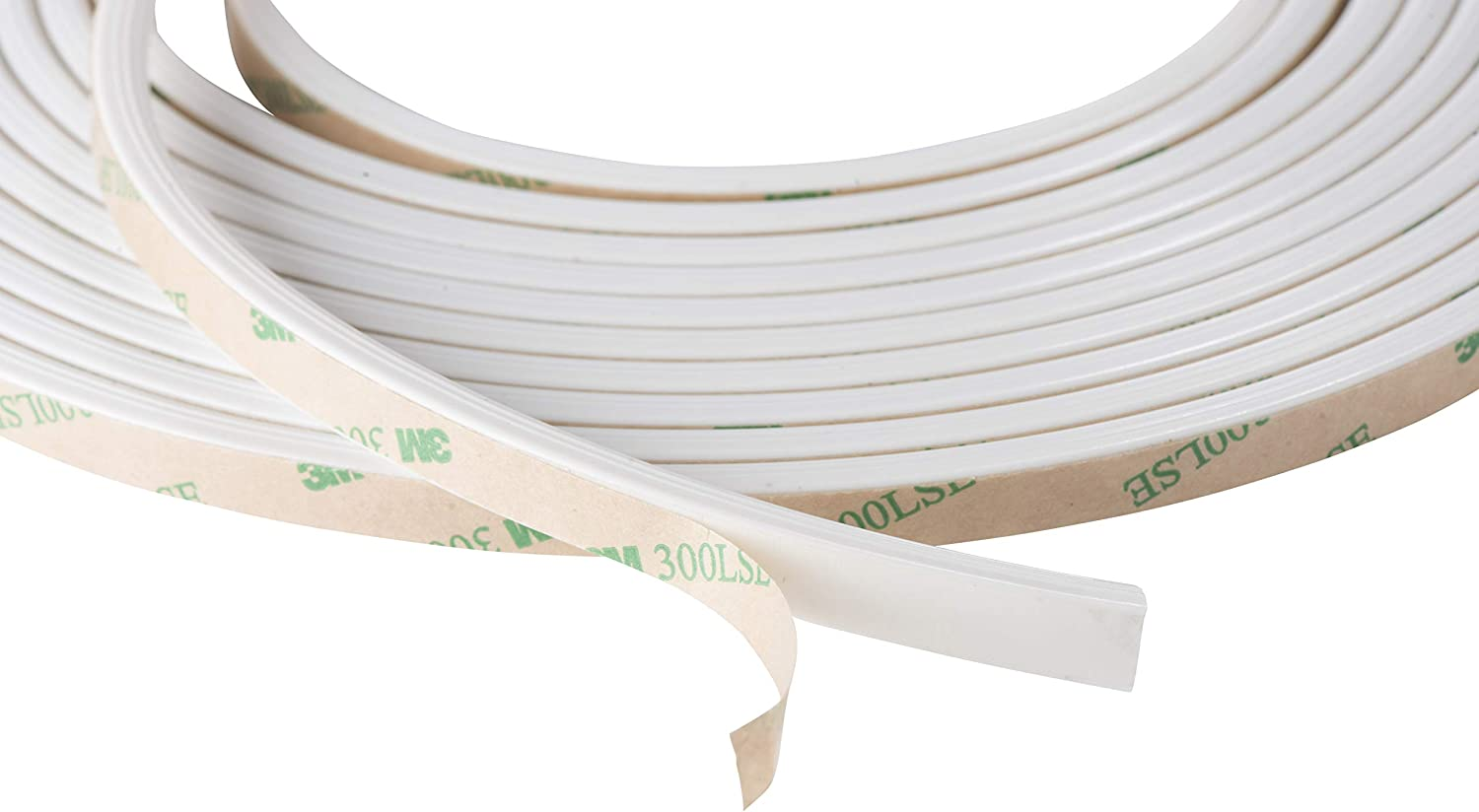 Self Adhesive Weatherstrip.375 Wide Silicone