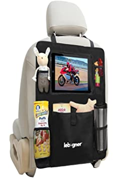 Backseat Organizer IPad And Tablet Holder By Lebogner X Large Multifunctional 5 Pocket