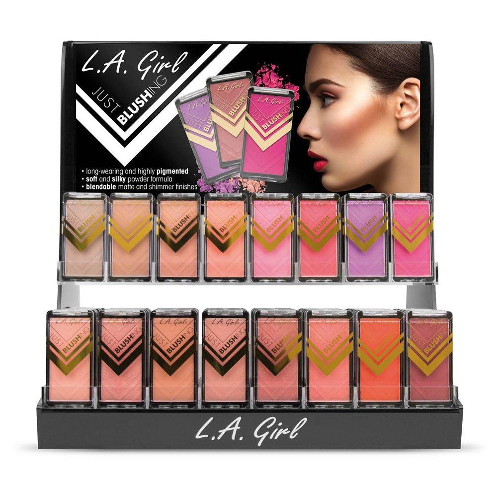 L.A. GIRL Just Blushing Acrylic Display Set, 192 Pieces (並行輸入品) B071FJ713N
