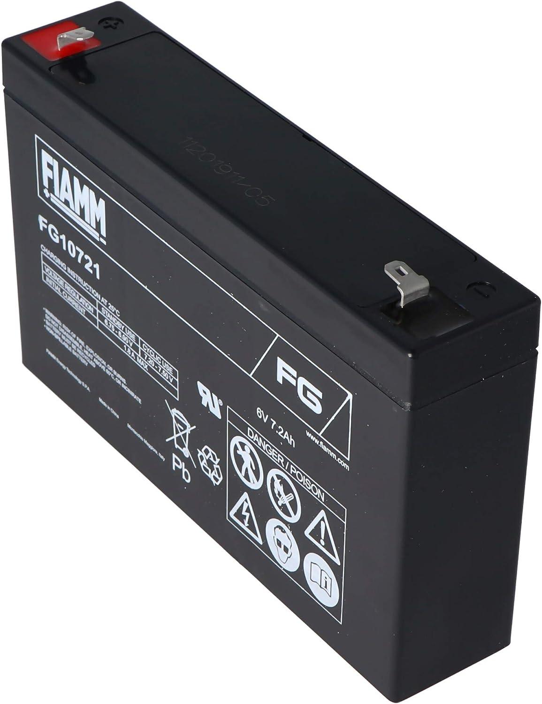 Fiamm FG10721 plomo ácido de la batería de 6 voltios 7200mAh